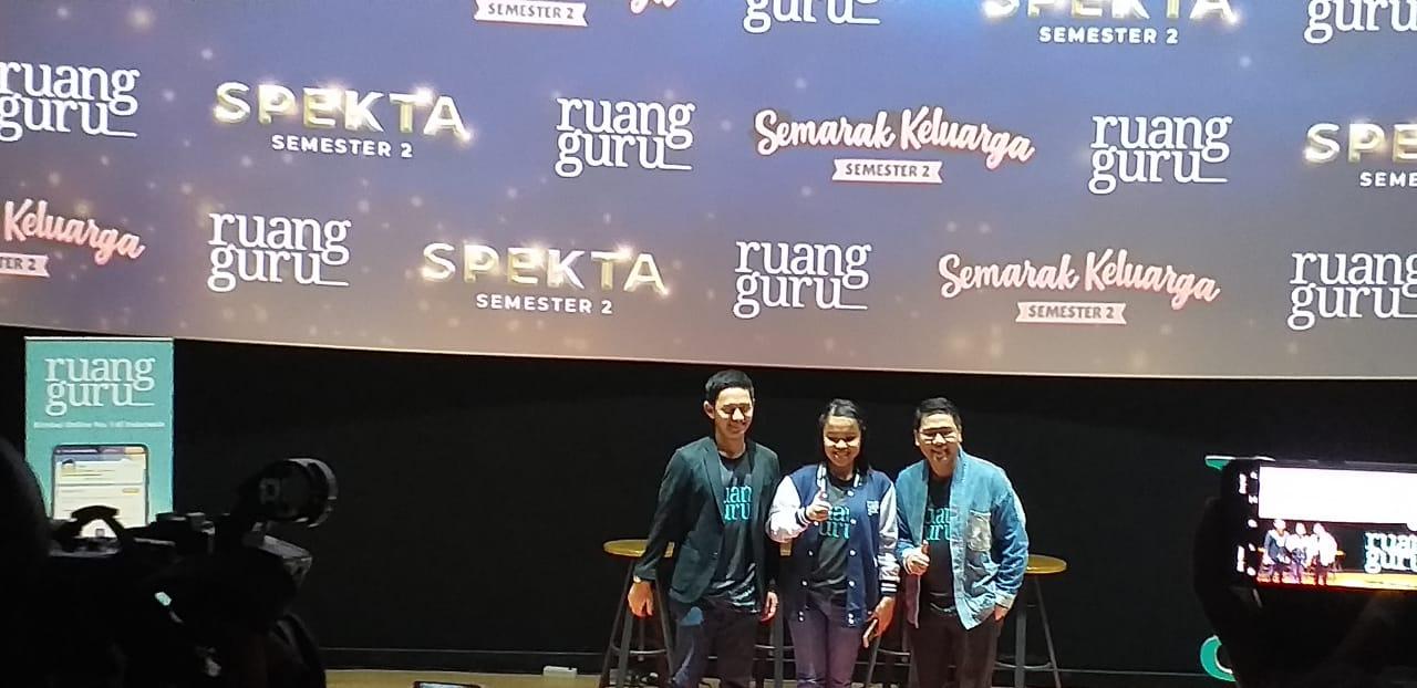 Ruang Guru Kenalkan Inovasi Produk Dan Angkat Brand Ambasador Nissa Sabyan Dan Putri Ariani Poros Nusantara