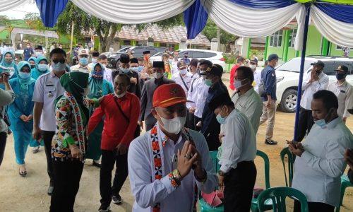 Bupati Lampung Barat Saat Menghadiri Musrem RKPD